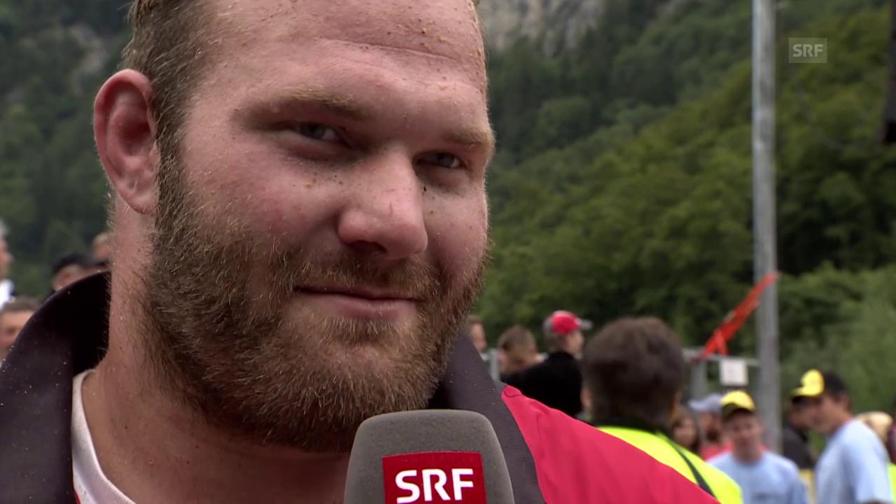 Schwingen: Brünigschwinget 2015, Interview mit Von Ah