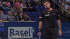 Video «Wawrinka - Roger-Vasselin: Wichtigste Ballwechsel («sportlive»)» abspielen