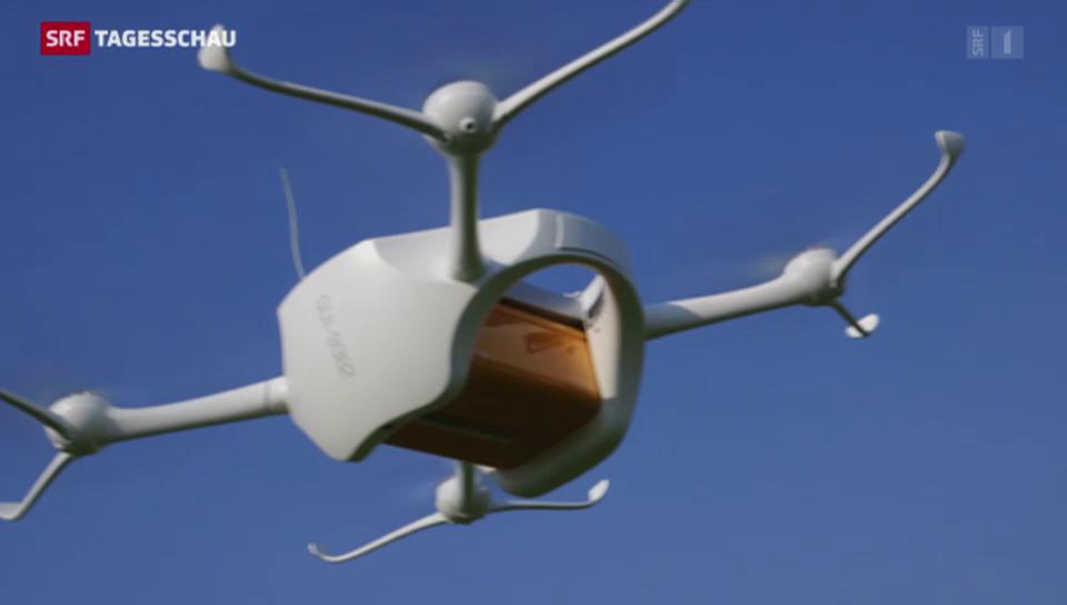 Post testet Paket per Drohne