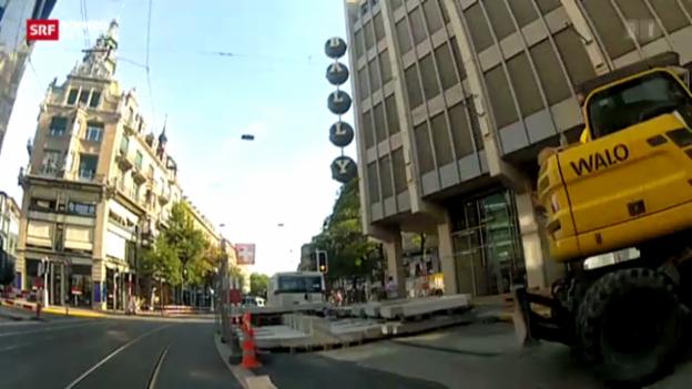 Video «Schnäppchen an der Bahnhofstrasse» abspielen
