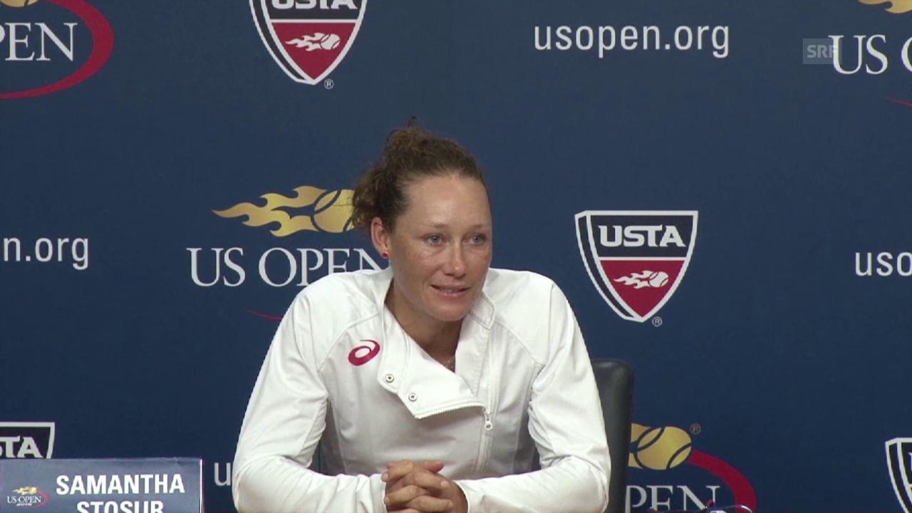 Tennis: US Open, Stosur über Transport