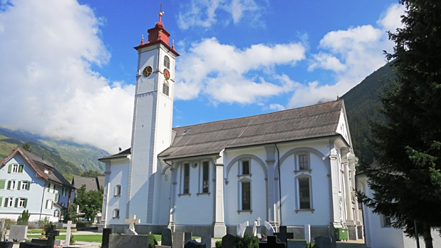 Glockengeläut der Kirche St. Peter und Paul, Andermatt