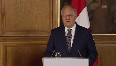 Video «Schneider-Ammann: Dossiers künftig getrennt verhandeln» abspielen