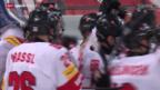 Video «Eishockey: U18-WM in Zug, Viertelfinal, Russland - Schweiz» abspielen