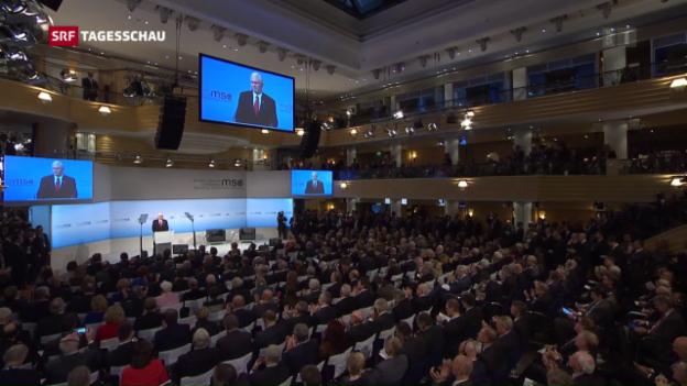 Video «Ja zur Nato, Ja zu Europa – Zweifel bleiben» abspielen