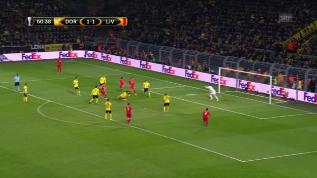 Video «Dortmund-Keeper Weidenfeller hält sein Team mit starken Paraden im Spiel» abspielen