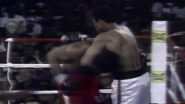 Video «Boxen: 40 Jahre «Rumble in the Jungle» - ein Rückblick» abspielen