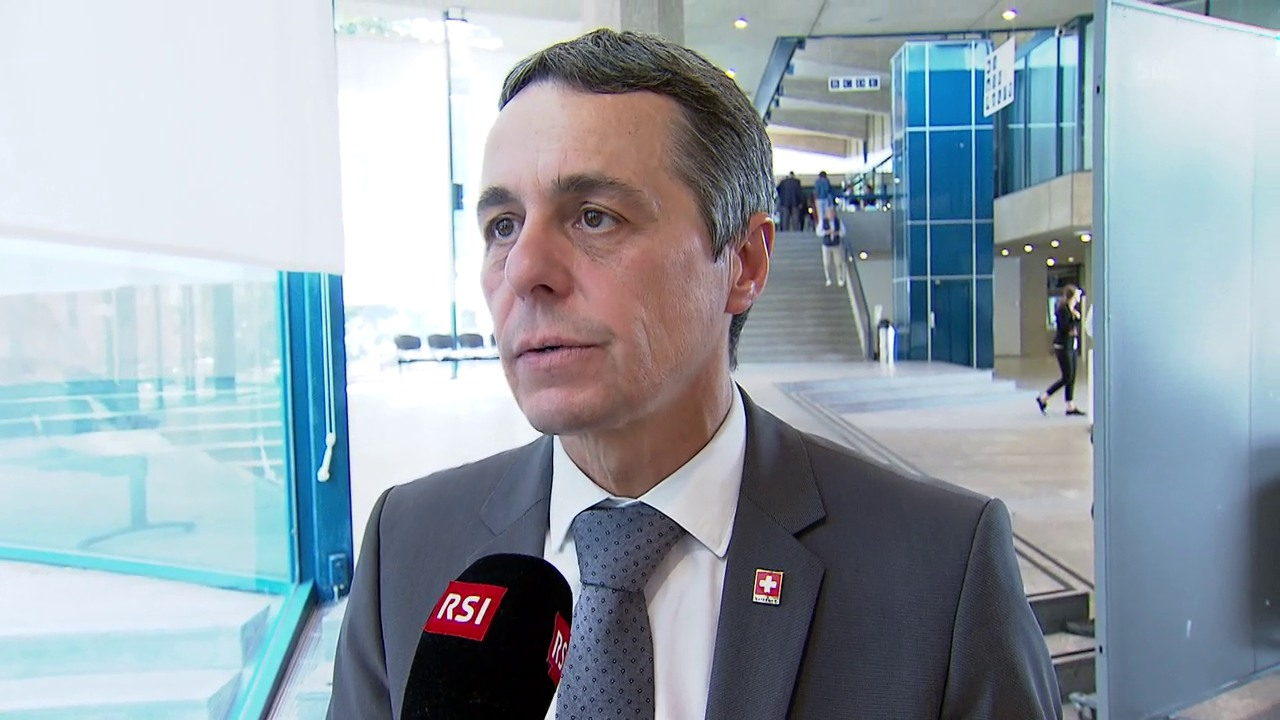 Cassis: «Wir stehen immer noch für eine Zwei-Staaten-Lösung»
