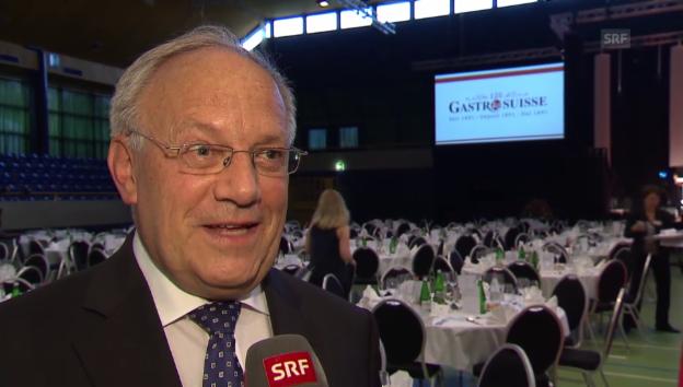 Video «Johann Schneider-Ammann über seine Rede» abspielen