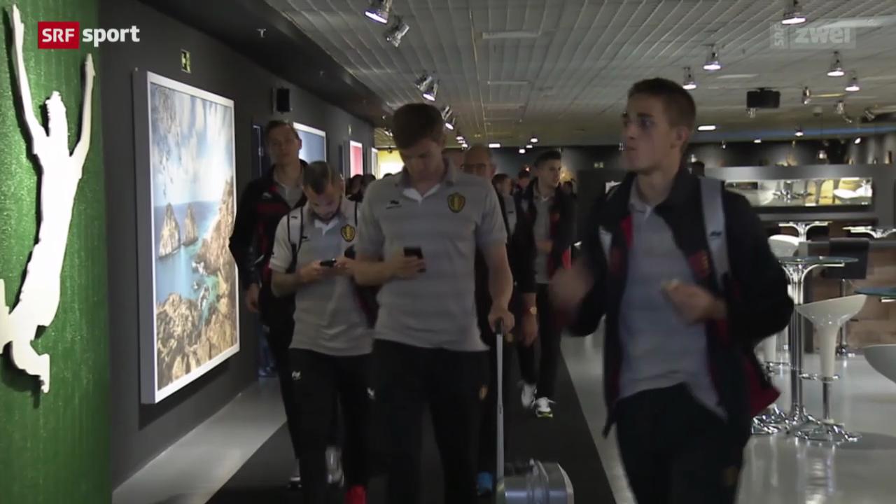 Belgiens goldene Generation vor dem WM-Start gegen Algerien