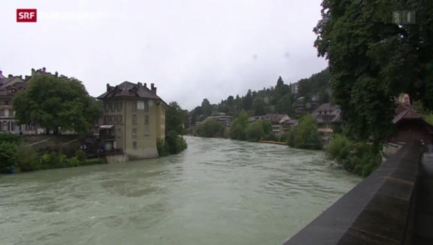 Video «Hochwassergefahr hält an» abspielen
