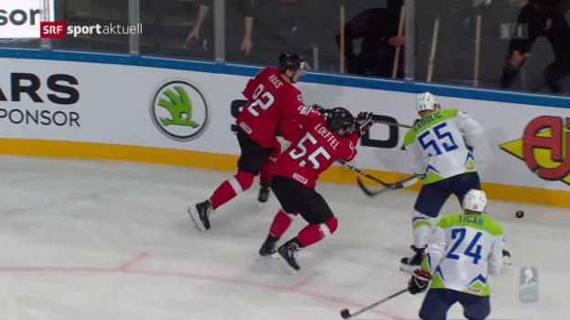 Video «Schweiz kommt nach 4:0-Führung arg ins Zittern» abspielen