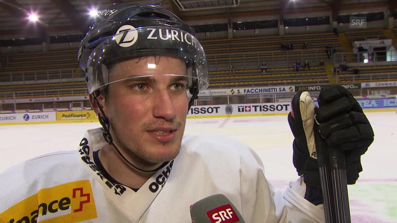 Eishockey, WM-Vorbereitung, Interview mit Roman Josi