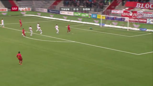 Fussball: Thun - Sion