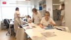 Video «Ventilklausel könnte zu Mangel an Pflegepersonal führen» abspielen