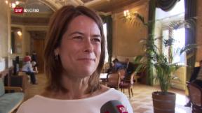 Video «Ein Jahr Parteipräsidentin: Petra Gössi» abspielen