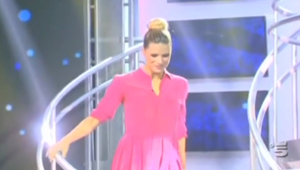 Michelle Hunzikers TV-Comeback bei «Striscia la notizia»