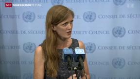 Video «Russland und USA einigen sich auf Resolutionsentwurf» abspielen