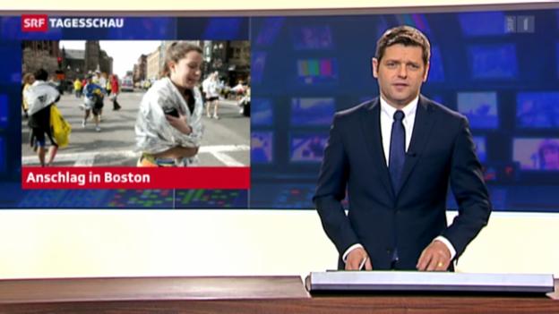 Video «Bombenanschläge beim Boston Marathon («tagesschau»)» abspielen