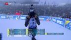 Video «Schweizer Biathleten bei Nebelrennen nur Durchschnitt» abspielen