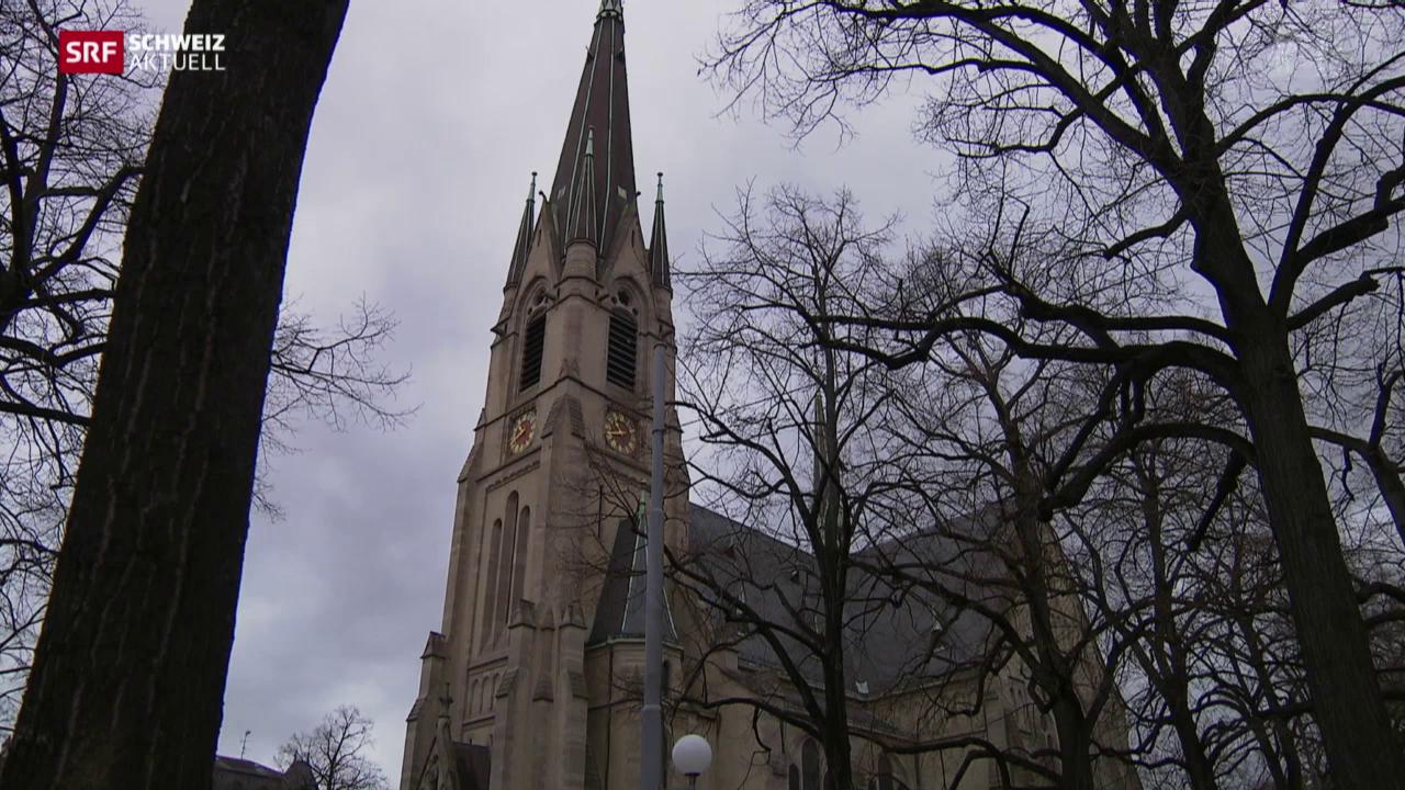 Kirche besetzt