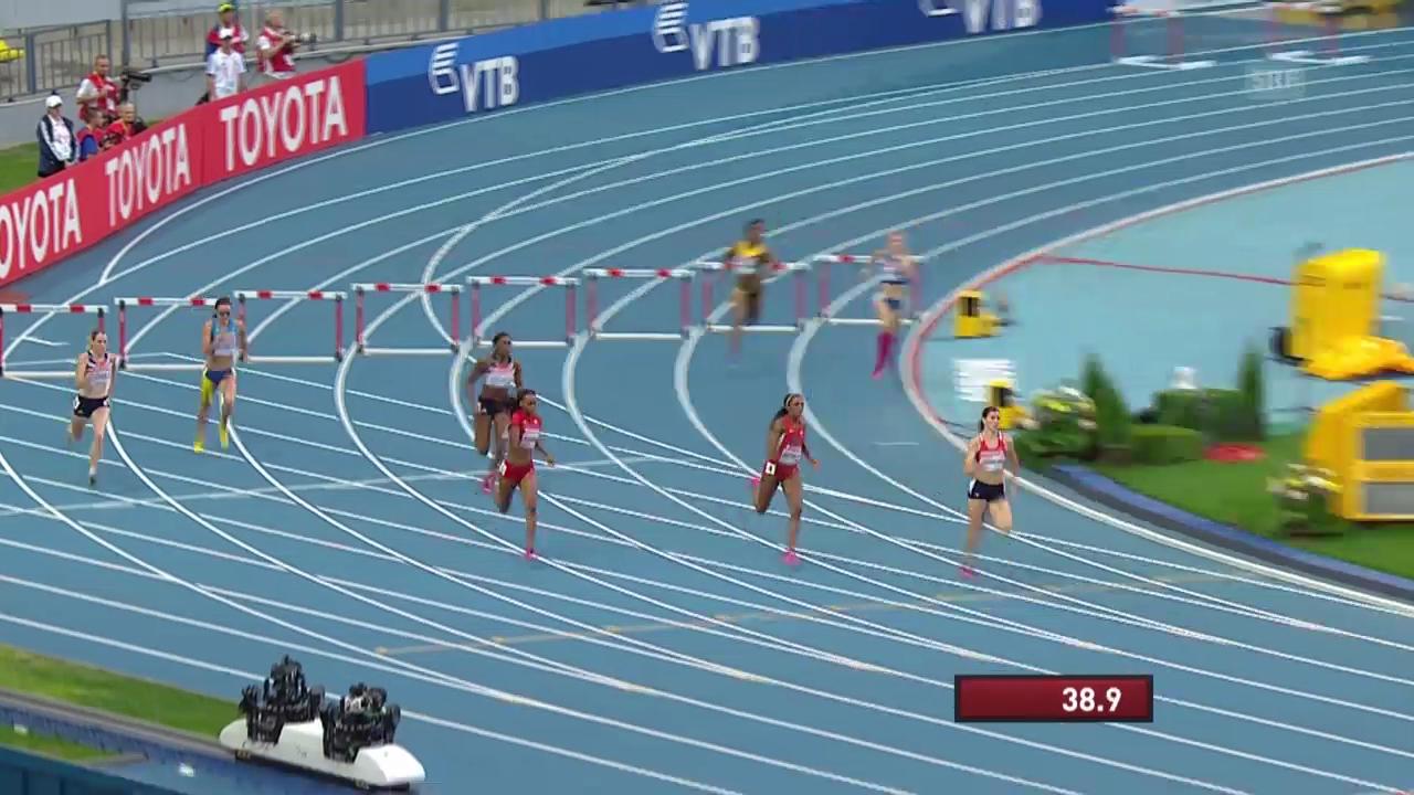 2013: Hejnova läuft zu WM-Gold