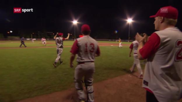 Video «Baseball-EM: Schweiz - Ukraine («sportaktuell»)» abspielen