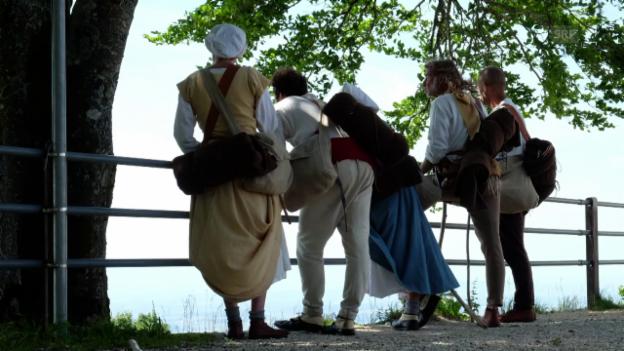 Video «Pilgerreise: Highlights der 2. Woche» abspielen