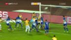 Video «Lausanne bleibt nach Niederlage am Tabellenende» abspielen