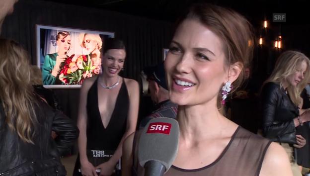 Video «Lauriane Gilliéron im Liebes-Interview» abspielen