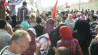 Video «Freilassung von Hosni Mubarak in Ägypten» abspielen