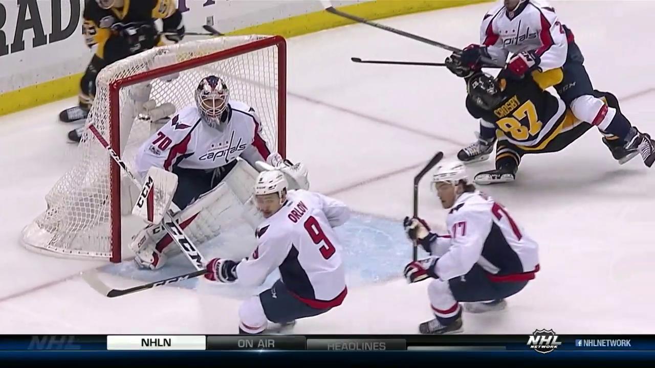 Crosby nach heftigem Check out