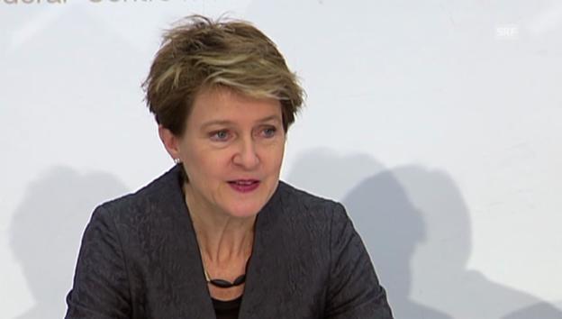 Video «BR: Sommaruga: Warum der Bundesrat gegen die Initiative ist» abspielen