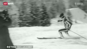 Video ««Retro» mit Beni – auch vor 50 Jahren dominierte das Thema Ski» abspielen
