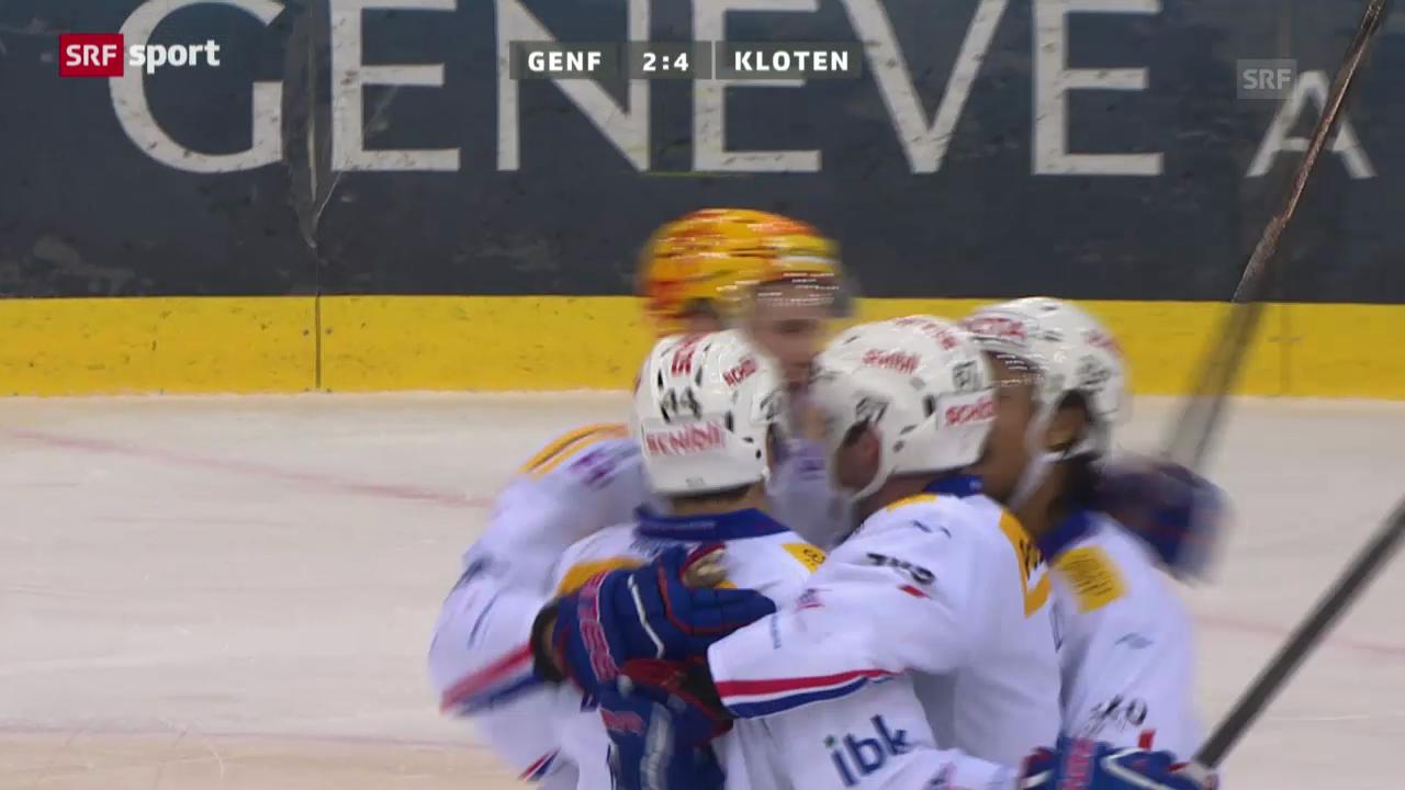 Eishockey: Genf-Kloten («sportaktuell»)