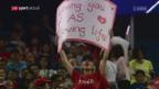 Video «Für Federer ist Schanghai eine Wohlfühloase» abspielen
