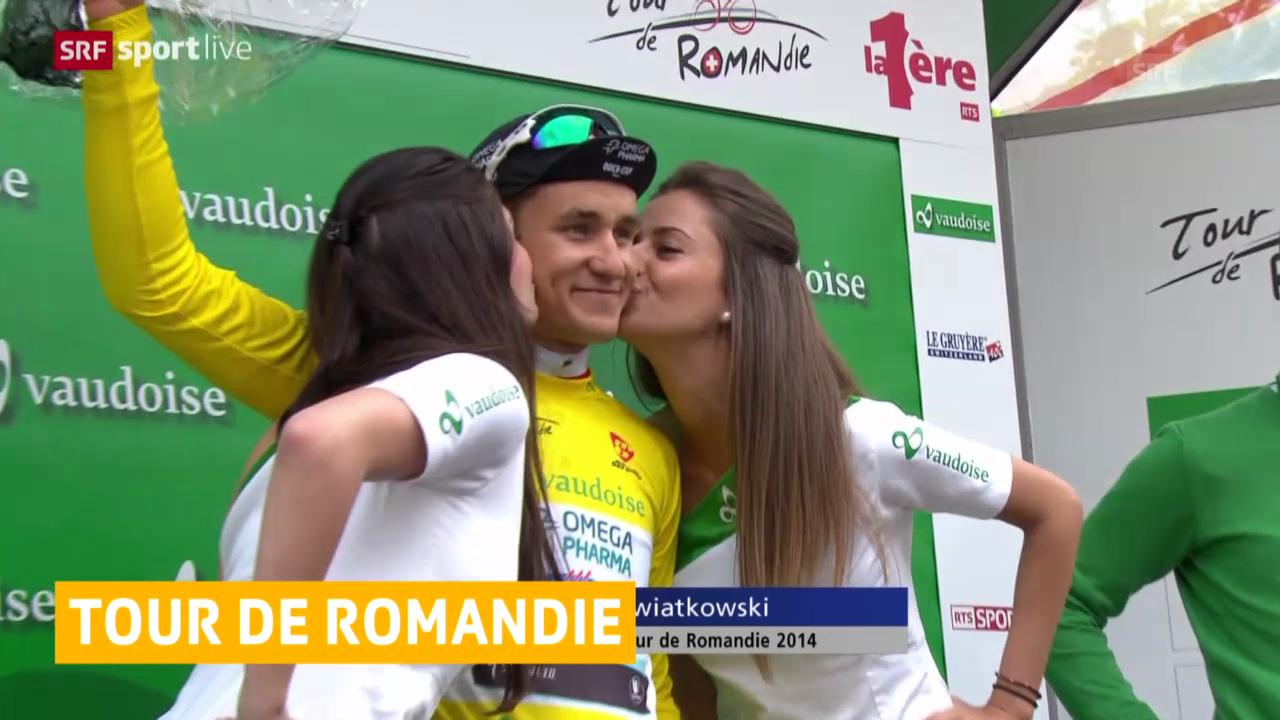 Rad: Prolog bei der Tour de Romandie