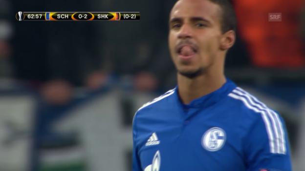 Video «Schalke - Schachtar» abspielen