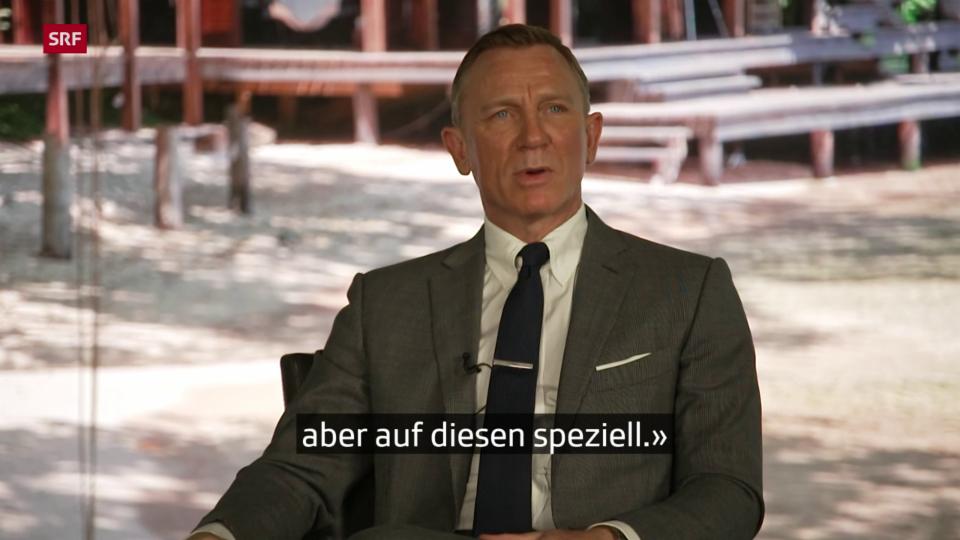 Daniel Craig und Leshana Lynch über den neuesten Bond-Film