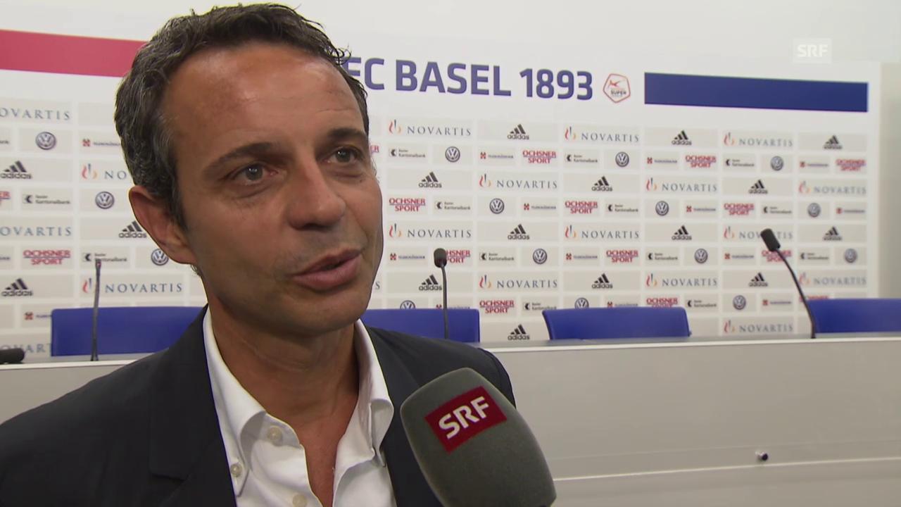 Fussball: Super League, Interview Bernhard Heusler