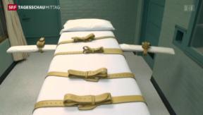 Video «Deutlich mehr Todesstrafen» abspielen