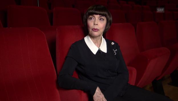 Video «Mireille Mathieu im Interview» abspielen