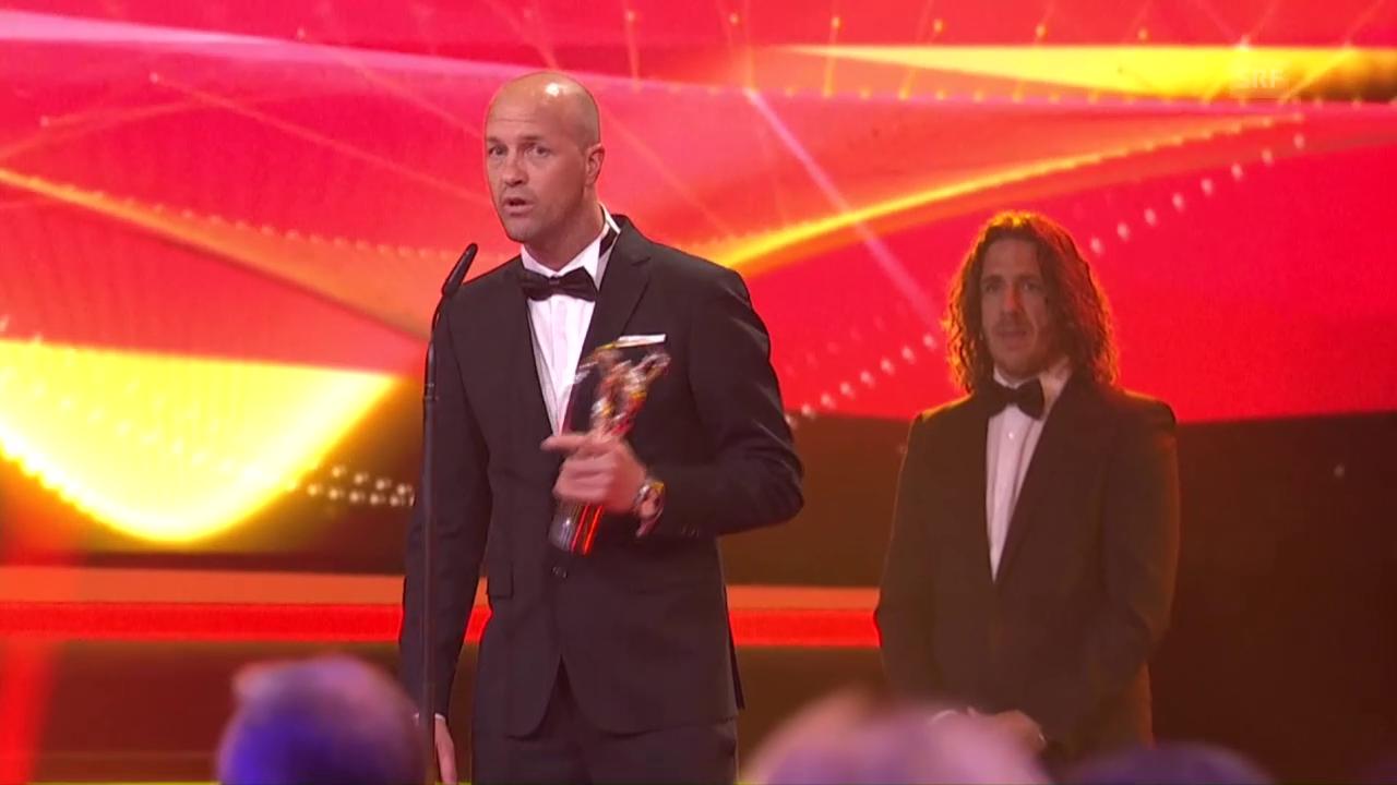 Jordi Cruyffs emotionale Dankesrede (EVS, engl.)