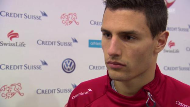 Video «Fussball: Fabian Schär im Interview» abspielen
