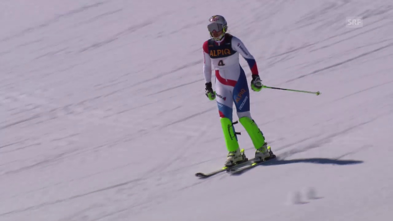 Ski: Schweizer Meisterschaften in St. Moritz, Slalom der Frauen