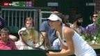 Video «Tennis: Belinda Bencic im Juniorinnen-Final» abspielen