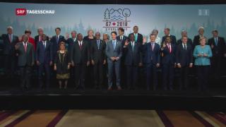 Video «Abschlusserklärung beim G7-Gipfel geplatzt» abspielen