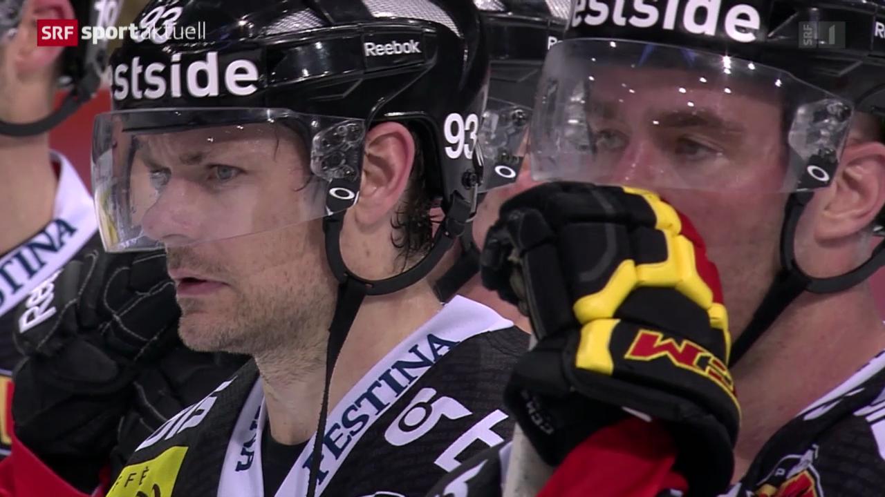 Eishockey: Bern - Freiburg