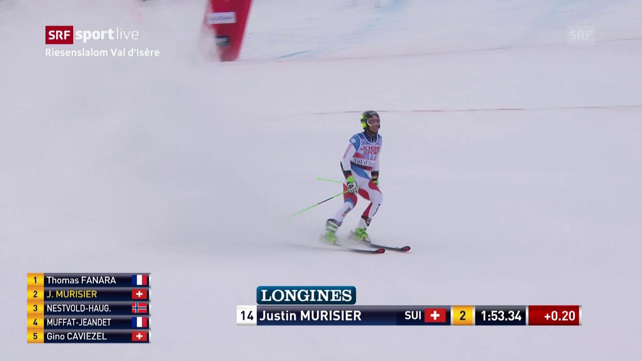 Konstant, aber nicht schnell genug: Justin Murisier
