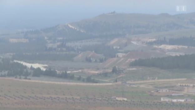Video «Hinweise auf Giftgas-Fabrik in Syrien» abspielen